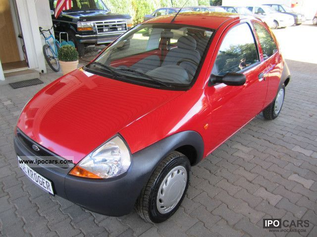 1997 Ford  Ka only 96tkm, new brakes and TÜV Small Car Used vehicle photo