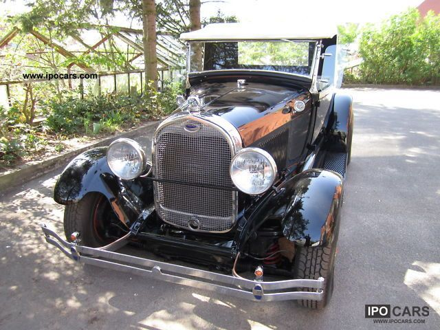 Ford  Model A Pick Up Roadster Hot Rod Movie Youtube 1929 Vintage, Classic and Old Cars photo
