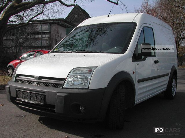 2004 Ford  Transit Connect (high + long) air conditioning / heater Van / Minibus Used vehicle photo