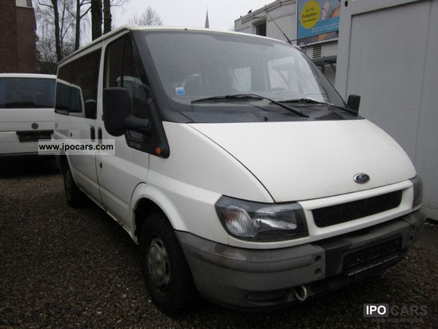 2006 Ford Transit 9 Seater 101 Hp Car Photo And Specs