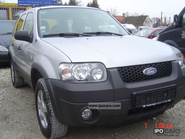 2006 Ford  Maverick-2 ,2-EURO4!-1.HAND-AIR-LEATHER-APC 4x4! Off-road Vehicle/Pickup Truck Used vehicle photo