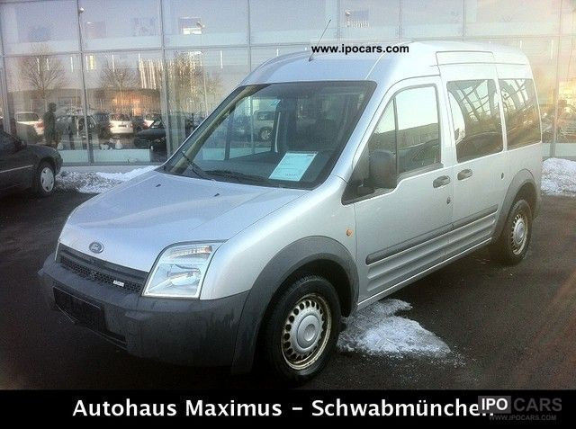 2003 Ford  Tourneo Connect 1.8 TDCi EURO * 3 * + AIR BED Van / Minibus Used vehicle photo