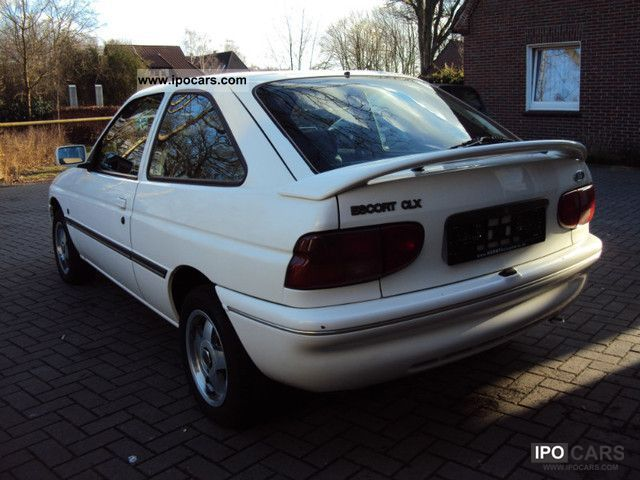 ford escort clx coupe car photo  specs