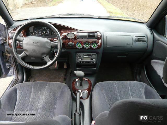 Ford Passenger Van >> 1996 Ford Escort 16V - Car Photo and Specs