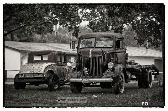 Ford  COE cabover truck V8 Flathead Hot Rod 1941 Vintage, Classic and Old Cars photo