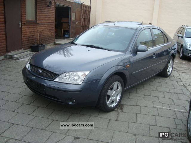 2002 ford mondeo 2 0 car photo and specs. Black Bedroom Furniture Sets. Home Design Ideas