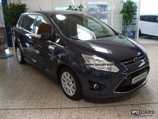 2012 ford grand c max titanium car photo and specs. Black Bedroom Furniture Sets. Home Design Ideas