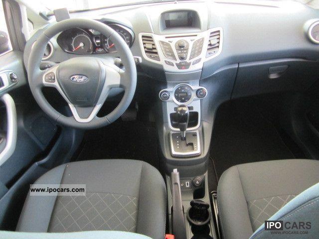 2012 Ford  Fiesta 1.4 Trend (EURO 5) Limousine Employee's Car photo