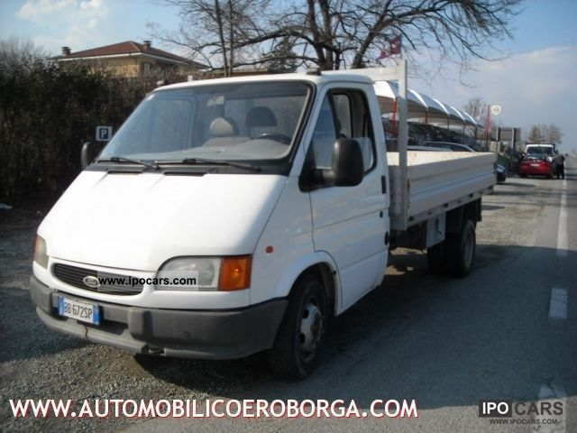 1999 Ford  Transit 190 2.5 TD/100CV PL-RG autocarro Other Used vehicle photo