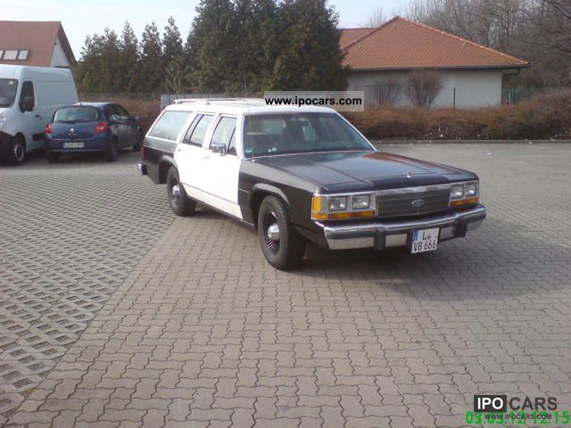 1989 Ford  Ltd. Station Wagon V8 U.S. police Estate Car Used vehicle photo