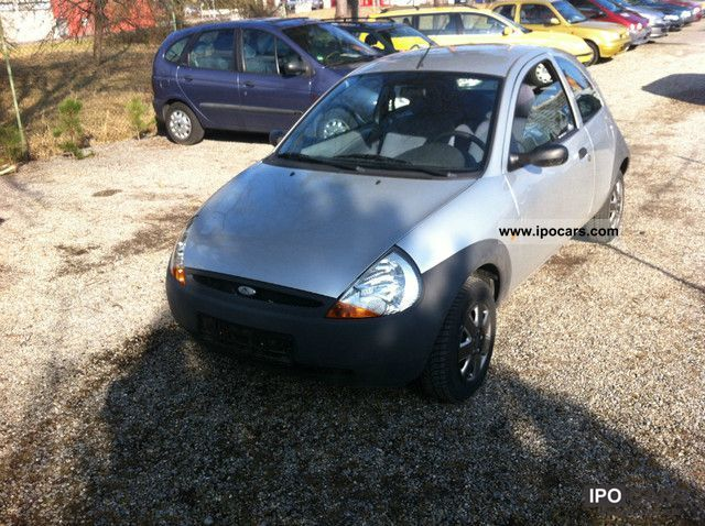 2000 ford ka 4 56 000 km car photo and specs. Black Bedroom Furniture Sets. Home Design Ideas
