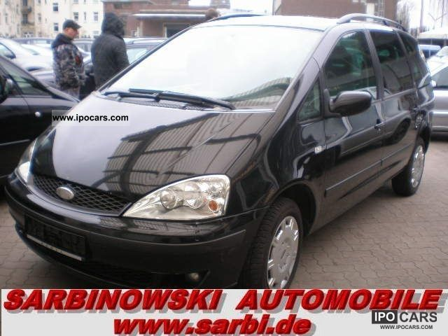 2002 Ford  Galaxy 1.9TDI 85 kW * 7Sitzer * air * Van / Minibus Used vehicle photo