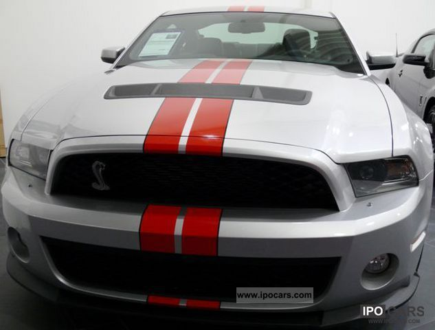 2011 Ford  2012 Mustang Shelby GT 500 Europe guarantee! Sports car/Coupe New vehicle photo