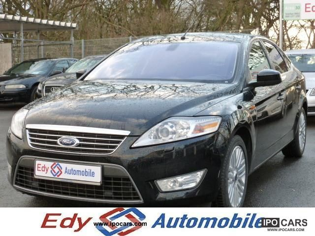 2009 Ford  Mondeo TDCI Ghia X 18 Navi 3D bi-xenon leather PDC Limousine Used vehicle photo