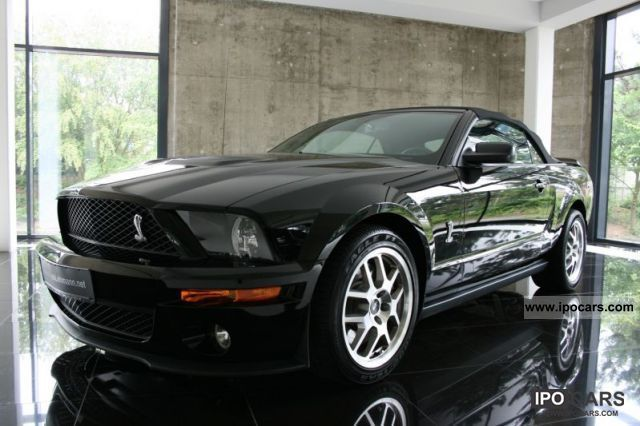 2007 Ford  Mustang Shelby GT 500 Convertible 7000 KM Cabrio / roadster Used vehicle photo