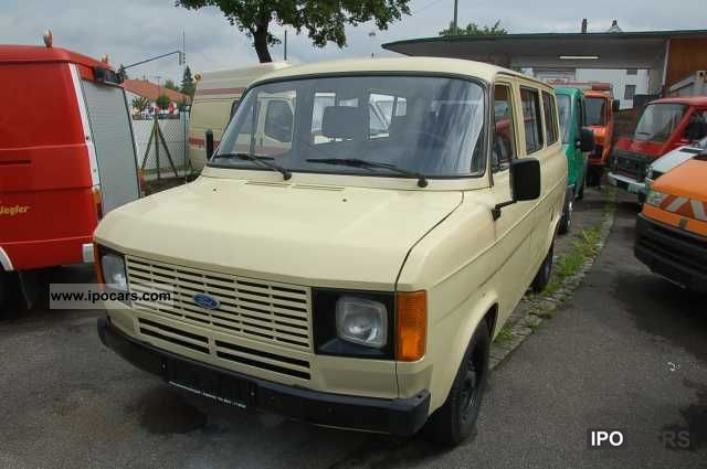 1982 Ford  Transit Bus combi 2.0 Estate Car Used vehicle photo