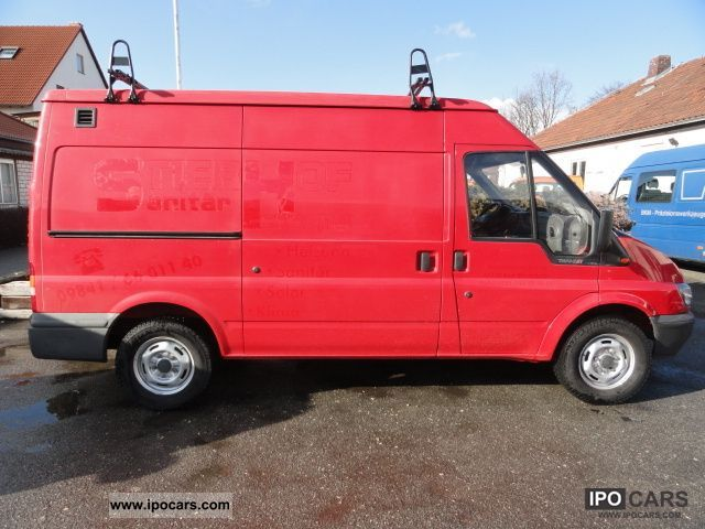 2004 Ford  FT 330 TDE / M 2.4 TDE box truck raised roof Van / Minibus Used vehicle photo