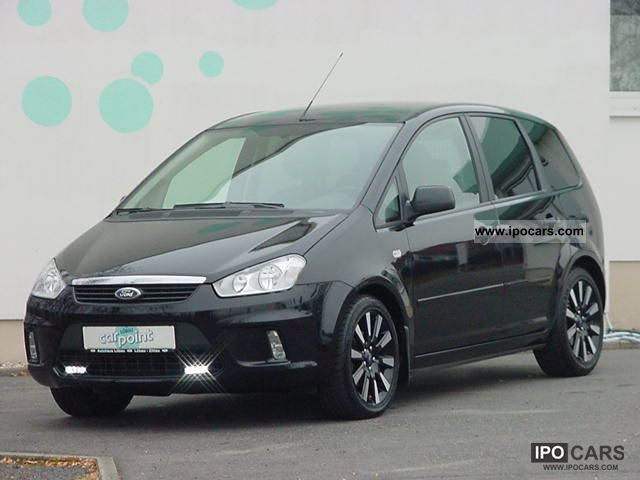 2009 ford c max 1 8 black magic car photo and specs. Black Bedroom Furniture Sets. Home Design Ideas