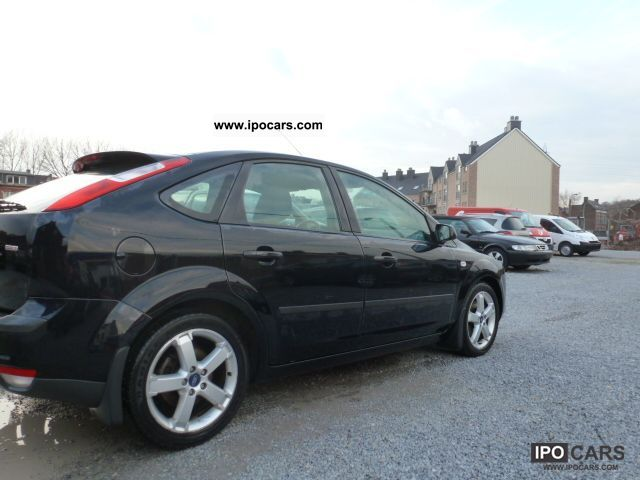 2006 ford focus 1 8 tdci 115 sport car photo and specs for Ford focus 2006 interieur