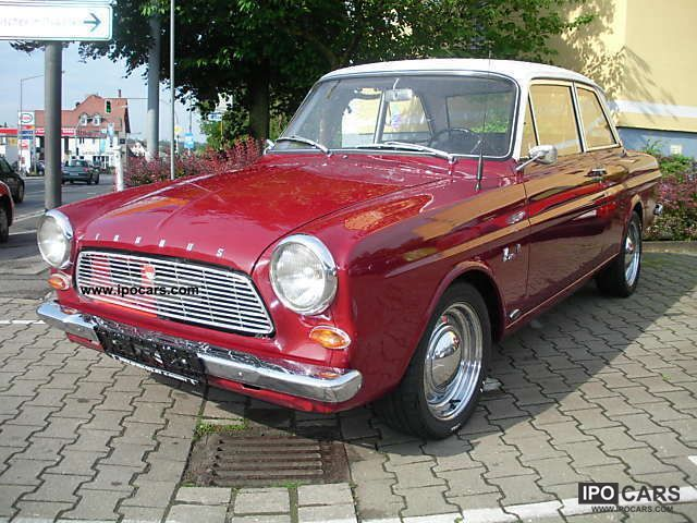 Ford  Taunus 12M 1965 Vintage, Classic and Old Cars photo