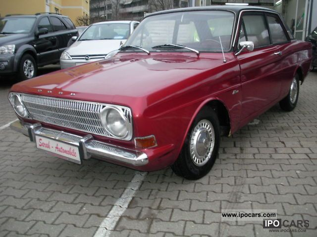 1968 Ford  Taunus 12 M Sports car/Coupe Classic Vehicle photo
