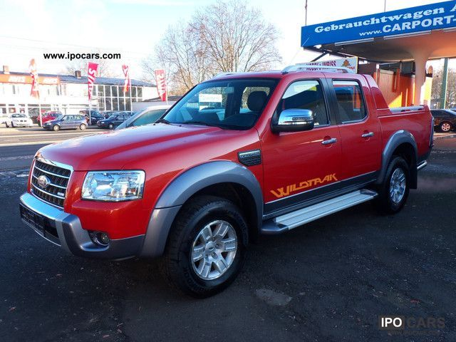 2008 Ford  Ranger Wildtrak Off-road Vehicle/Pickup Truck Used vehicle photo