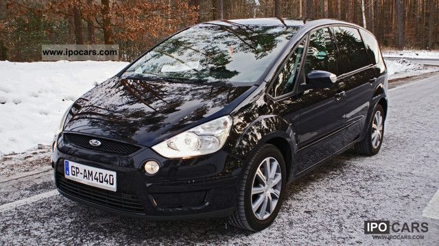 2007 Ford S Max 2 0 Tdci Ambiente Car Photo And Specs