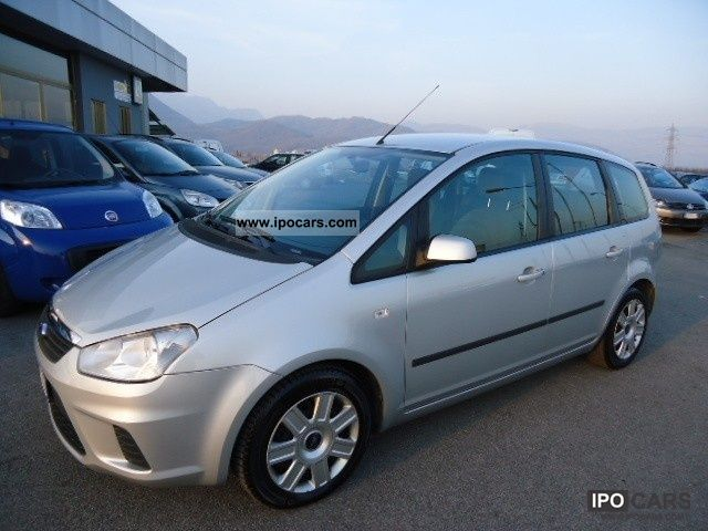 2008 ford c max 1 6 tdci 110cv car photo and specs. Black Bedroom Furniture Sets. Home Design Ideas
