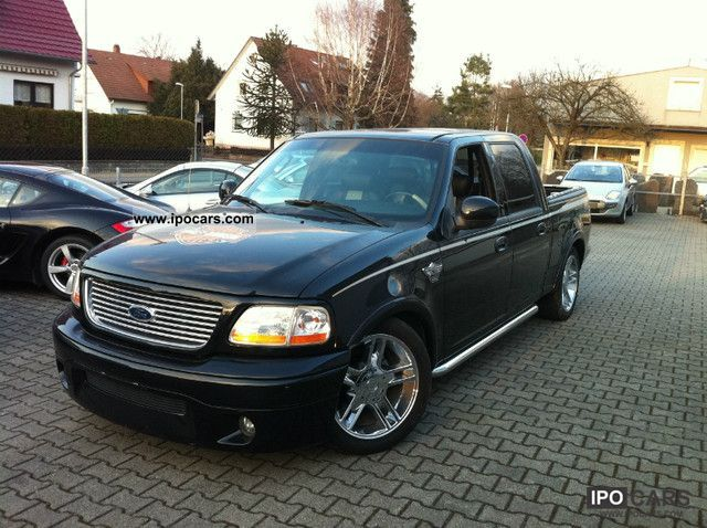 2003 Ford F 150 Harley Davidson Edition Car Photo And Specs