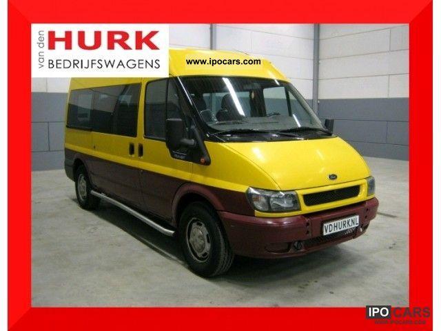 2000 Ford  Transit 2.4 Tddi Combi L2H2 combined 9 9 pers Zitz Van / Minibus Used vehicle photo