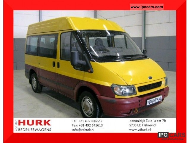 2001 Ford  Transit 2.0 Tddi L1H2Combi combined 9 9 pers Zitz p Van / Minibus Used vehicle photo