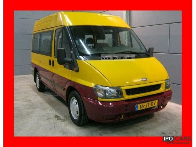 2002 Ford  Transit 2.0 TDDI Combi combined 9 9 pers Zitz perso Van / Minibus Used vehicle photo