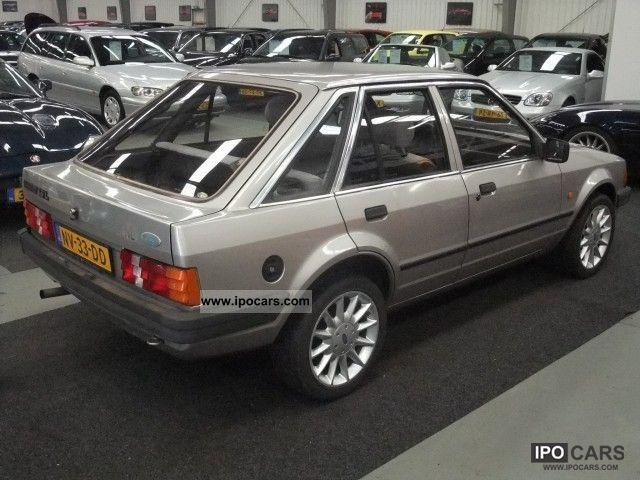1985 Ford Escort 1 6 L Bravo Nap Sportvelgen Aut 146071km