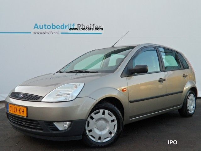 2002 Ford  Fiesta 1.3 8V 69pk / environment / Nw model / 5 drs / Small Car Used vehicle photo