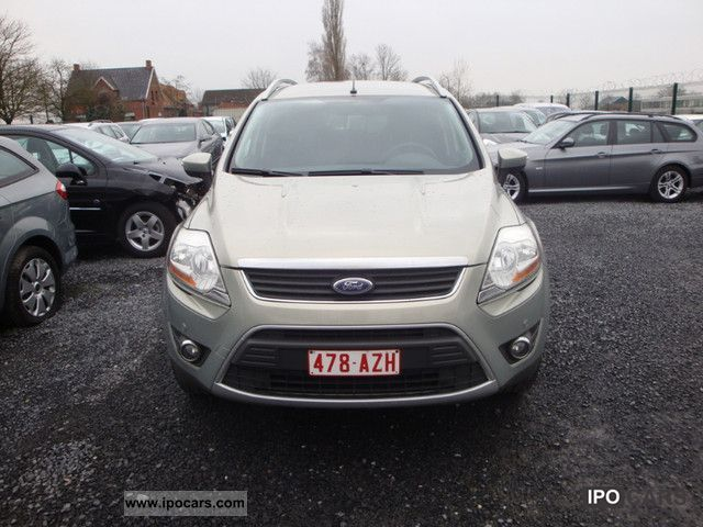 2009 ford kuga 2 0 tdci trend 2x4 car photo and specs. Black Bedroom Furniture Sets. Home Design Ideas
