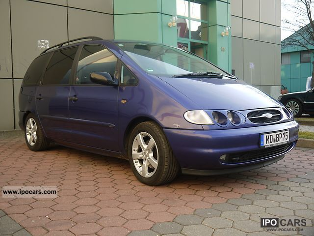 2000 ford galaxy v6 ghia car photo and specs. Black Bedroom Furniture Sets. Home Design Ideas