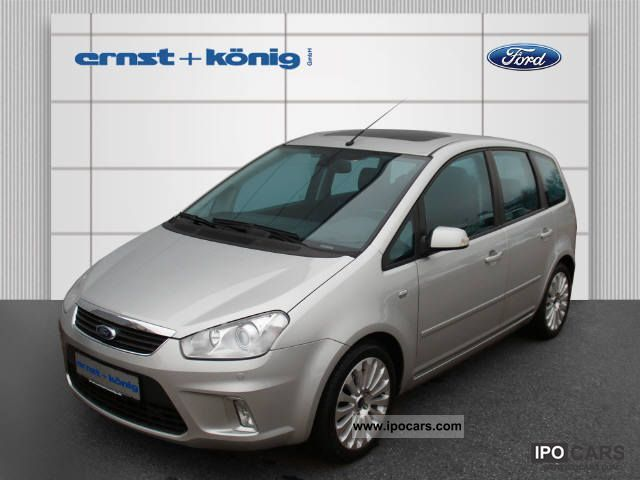 2007 ford c max 2 0 tdci titanium car photo and specs. Black Bedroom Furniture Sets. Home Design Ideas