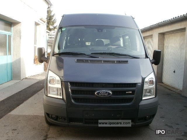 2009 ford transit ft 300 140 h l trend trade climate 9sitze car photo and specs. Black Bedroom Furniture Sets. Home Design Ideas