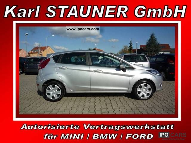 2011 Ford  FIESTA 1.4 TDCI, CLIMATE CONTROL, NAVI, SH, PDC Small Car Used vehicle photo