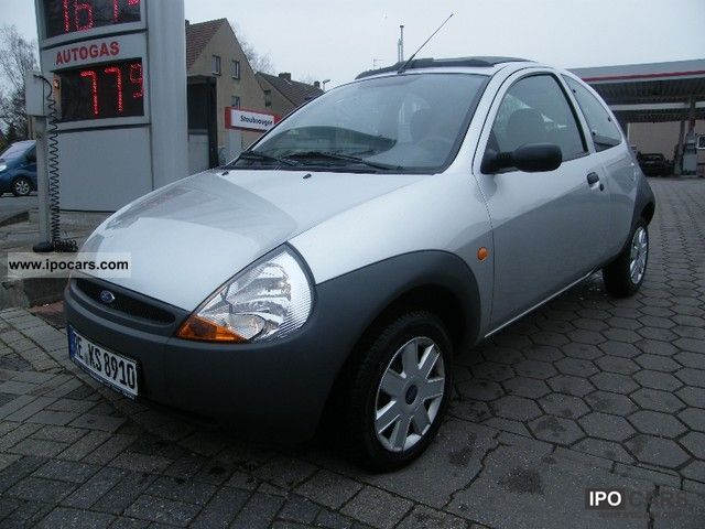 2005 Ford  Ka * 2.Hand * Electrical * 49TKM Folding roof window + * CD * Top * Small Car Used vehicle photo