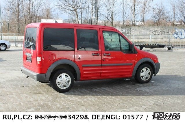 2005 Ford Transit Connect With Two Sliding Doors Car