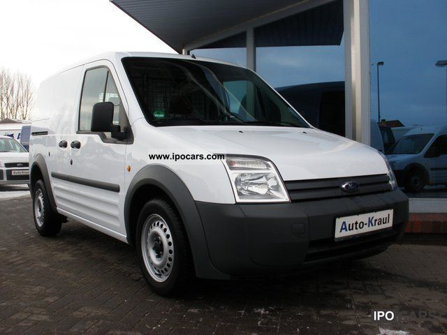 2009 Ford  Transit Connect 1.8 TDCI box, KRS, air, hitch Van / Minibus Used vehicle photo