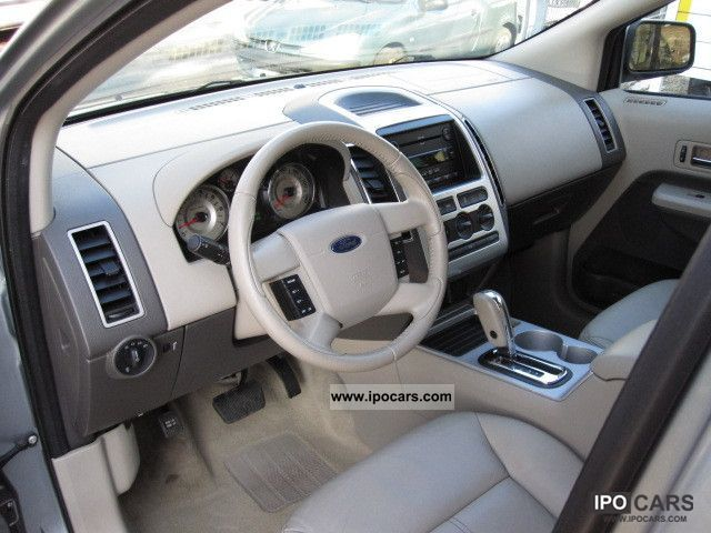 2007 Ford Edge Sel >> 2007 Ford Edge SEL 3.5 V6 * LEATHER + AIR + AUTO BEIGE. +18' ALU - Car Photo and Specs