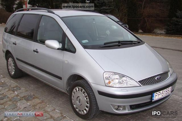 Ford  Galaxy 2.3 GAZ BEZWYPADKOWY REJ.PL 2004 Liquefied Petroleum Gas Cars (LPG, GPL, propane) photo
