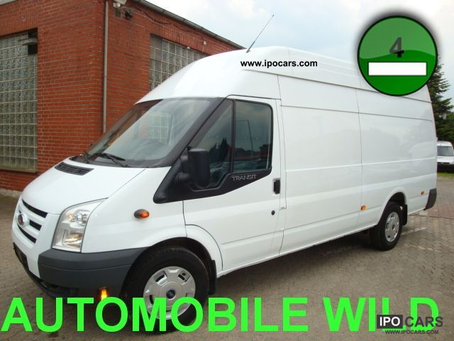 2010 Ford  Transit 350EL maximum FT LONG + HIGH! Air + div.Extras Van / Minibus Used vehicle photo