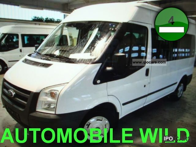 2011 Ford  Transit FT 300M TDCi 116 PS! 9-seater / climate / APC Estate Car Employee's Car photo