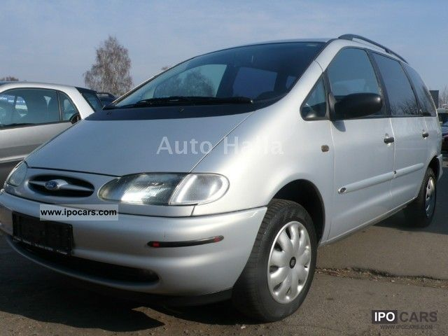 1996 Ford  Galaxy 2.0 16V GLX * AHK * air * 7 seater * Van / Minibus Used vehicle photo
