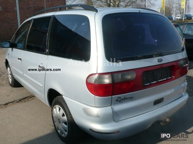 Nissan Passenger Van >> 1996 Ford Galaxy 2.0 16V GLX * AHK * air * 7 seater ...