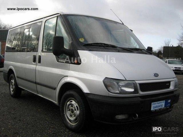 2003 Ford  TDCi Tourneo 9 seater ** ** ** Air ** APC ** Aluminum Van / Minibus Used vehicle photo