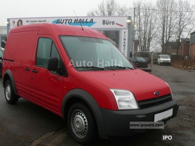 2003 Ford  Transit Connect - Closed Truck. Box checkbook Van / Minibus Used vehicle photo